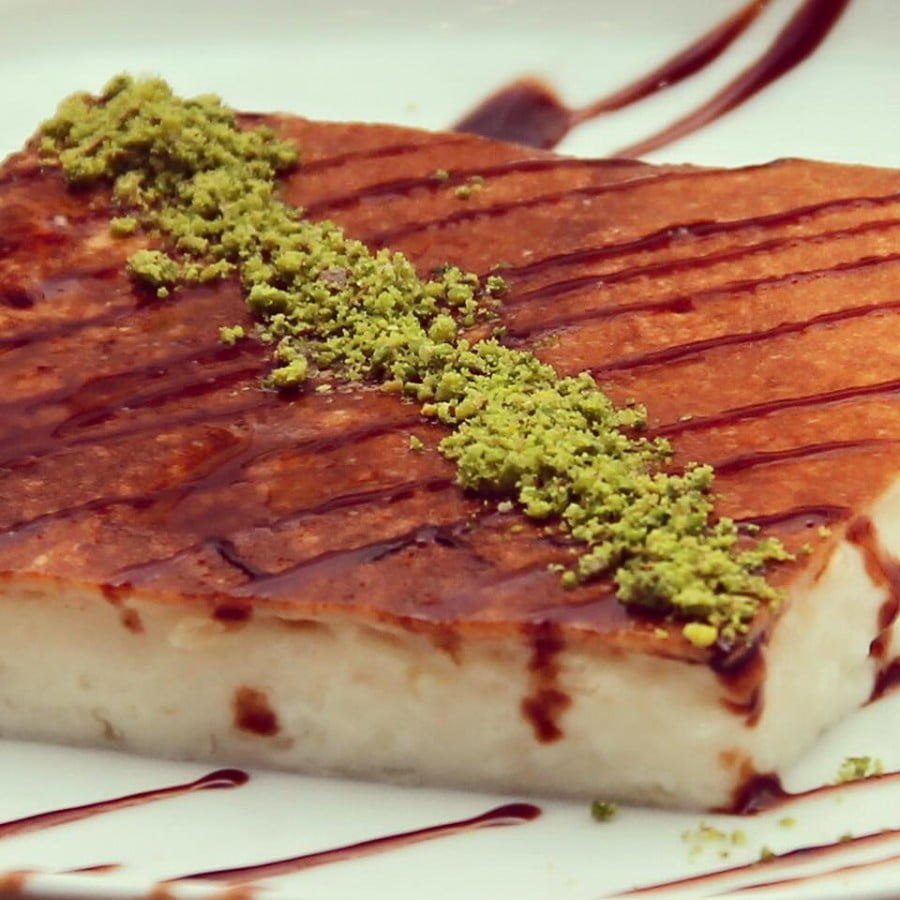 Kazandibi (gebakken melkpudding)